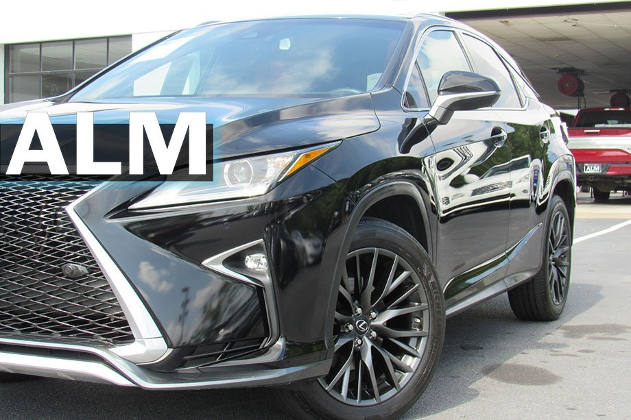Pre Owned Lexus >> Pre Owned 2017 Lexus Rx Rx 350 F Sport Fwd Sport Utility