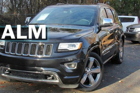 Pre-Owned 2016 Jeep Grand Cherokee Overland 4WD