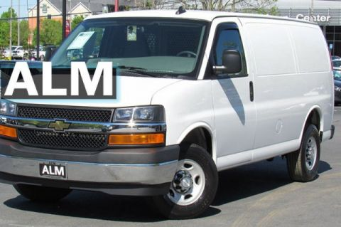 Pre-Owned 2017 Chevrolet Express Cargo Van 2500