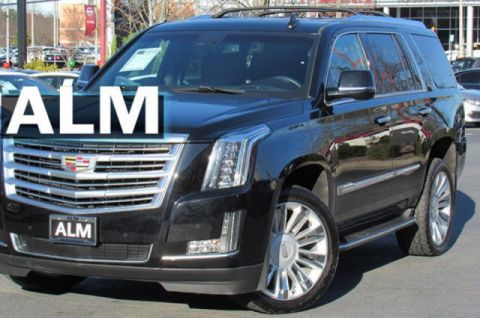 Pre-Owned 2015 Cadillac Escalade Platinum With Navigation