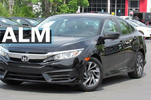Pre-Owned 2018 Honda Civic Sedan EX