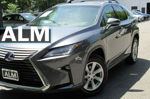 Pre-Owned 2016 Lexus RX 450h Base With Navigation & AWD