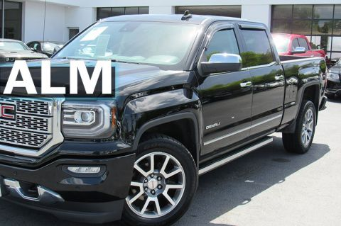 Pre-Owned 2018 GMC Sierra 1500 Denali With Navigation & 4WD