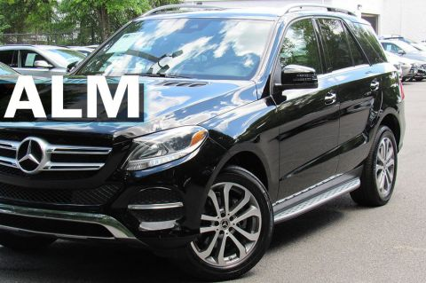 Pre-Owned 2018 Mercedes-Benz GLE GLE 350 RWD Sport Utility