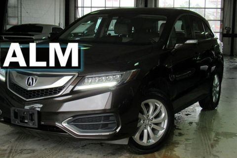 Pre-Owned 2016 Acura RDX Tech Pkg With Navigation & AWD
