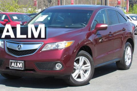 Pre-Owned 2015 Acura RDX Tech Pkg With Navigation & AWD