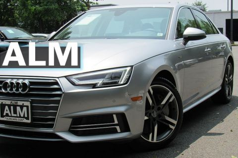 Pre-Owned 2018 Audi A4 Premium Plus AWD