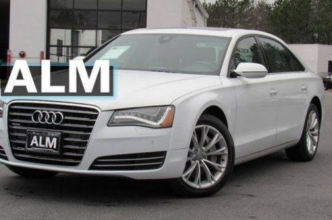 Pre-Owned 2014 Audi A8 L 3.0T AWD