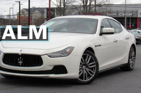 Pre-Owned 2015 Maserati Ghibli Base RWD 4dr Car